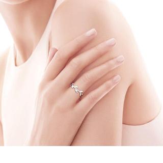 ティファニー(Tiffany & Co.)のTiffany パロマピカソ オリーブリーフバンドリング(リング(指輪))