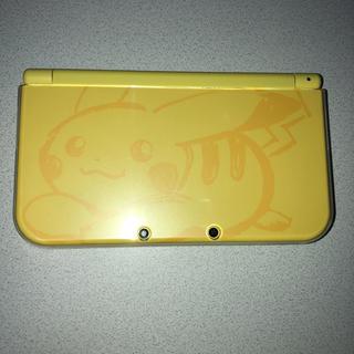 ニンテンドー3DS(ニンテンドー3DS)のNew 3ds ll ピカチュウ (携帯用ゲーム本体)