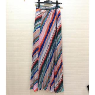 エイチアンドエム(H&M)の定価6900円✨新品タグ付 H&M プリーツロングスカート(ロングスカート)