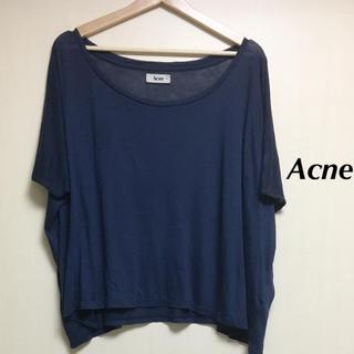 アクネ(ACNE)のAcne Tシャツ カットソー アクネ(Tシャツ(半袖/袖なし))
