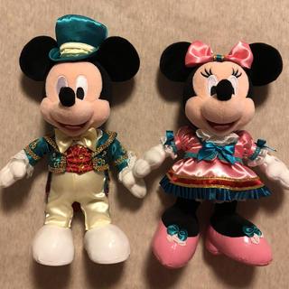ディズニー(Disney)のディズニーホテル ミッキー ミニー ぬいぐるみ おまけ付き 新品未使用(キャラクターグッズ)