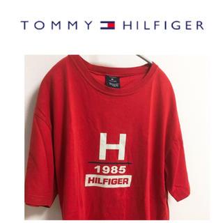 トミーヒルフィガー(TOMMY HILFIGER)のトミー トミーヒルフィガー オールドトミー ロゴ Tシャツ ビッグロゴ レア(Tシャツ/カットソー(半袖/袖なし))