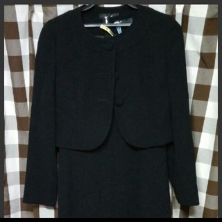Polepine 喪服 フォーマルジャケット ワンピース 7号(礼服/喪服)