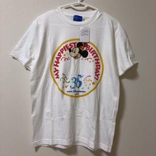 ディズニー(Disney)の新品タグ付☆ バースデー Tシャツ 35周年 ディズニーリゾート(Tシャツ(半袖/袖なし))
