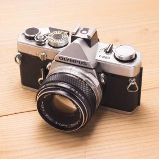 オリンパス(OLYMPUS)のolympus om-1 f.zuiko 50mm f1.8(フィルムカメラ)