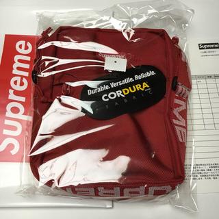 シュプリーム(Supreme)のSupreme  shoulder bag RED(ショルダーバッグ)