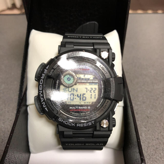 ジーショック(G-SHOCK)の新品未使用 CASIO G-SHOCK FROGMAN GWF-1000-1JF(腕時計(デジタル))