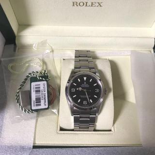 ロレックス(ROLEX)の【V番】ロレックス エクスプローラ1(腕時計(アナログ))