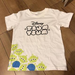 ディズニー(Disney)のツムツム リトルグリーンメン エイリアン Tシャツ 130(Tシャツ/カットソー)