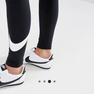 ナイキ(NIKE)の【Lサイズ】新品タグ付き Nike  ロゴレギンス ナイキ ブラック(レギンス/スパッツ)