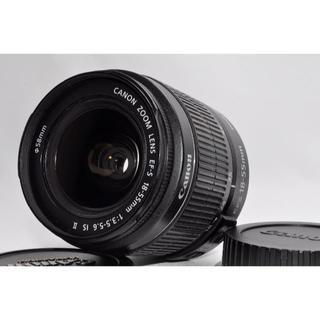 キヤノン(Canon)の❤手ぶれ補正付❤キャノン EF-S18-55mm F3.5-5.6 IS(レンズ(ズーム))