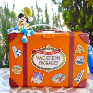 ディズニー(Disney)の35周年☆バケーションパッケージ☆ポップコーンケース(ノベルティグッズ)