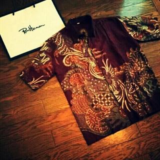 サンサーフ(Sun Surf)のアロハシャツ バテックプリント ビッグシルエット ヴィンテージ オーバーサイズ(シャツ)