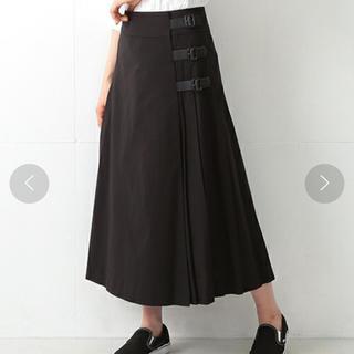 BEAMS BOY ダンガリー キルト スカート(ロングスカート)