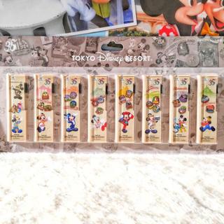 ディズニー(Disney)の35周年 ヒストリー柄 シャーペン芯セット ディズニーリゾート ランド シー(キャラクターグッズ)