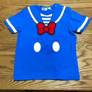 ディズニー(Disney)のDisney*ドナルドのTシャツ  90㎝(Tシャツ/カットソー)