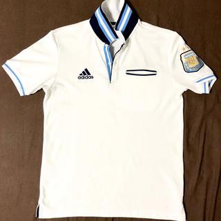アディダス(adidas)のadidas  アディダス アルゼンチン代表 プレミアムポロ ホワイト M(ポロシャツ)
