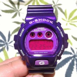 ジーショック(G-SHOCK)のCASIO G-shock dw-6900cc ジーショック パープル(腕時計(デジタル))