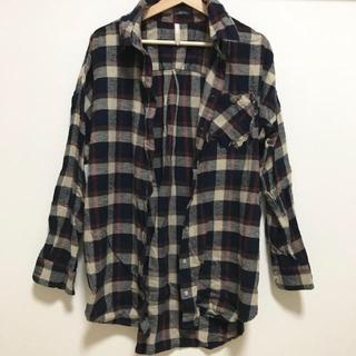 アングリッド(Ungrid)のコンチョポケットルーズチェックシャツ(シャツ/ブラウス(長袖/七分))
