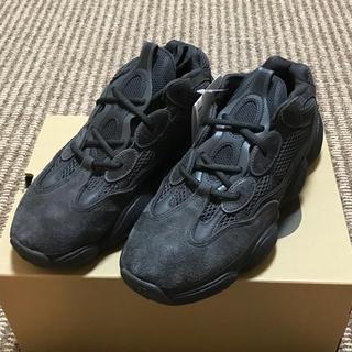 アディダス(adidas)のadidas YEEZY 500 UTILITY BLACK 27.5cm(スニーカー)