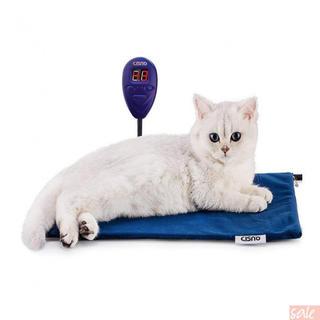 CISNO ペット用ホットカーペット 猫 犬 電気ヒーター (猫)
