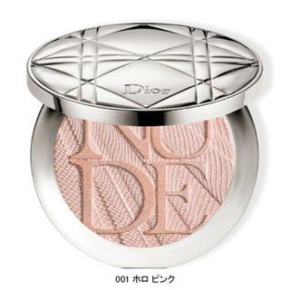 ディオール(Dior)のDior  スキンヌードエアー  ハイライト ホロピンク  限定商品  (フェイスパウダー)