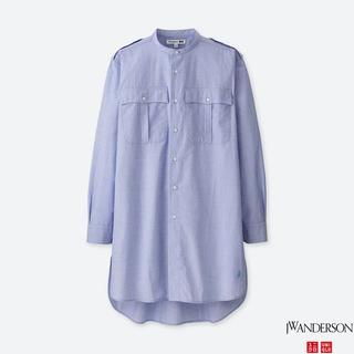ジェイダブリューアンダーソン(J.W.ANDERSON)のJWアンダーソン Uniqlo スタンドカラーロングシャツ SIZE XL(シャツ)
