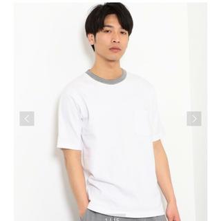 グリーンレーベルリラクシング(green label relaxing)の新品未使用 green label relaxing 白 Tシャツ(シャツ)