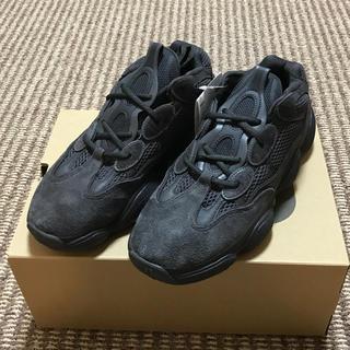 アディダス(adidas)のadidas YEEZY 500 UTILITY BLACK 27cm(スニーカー)