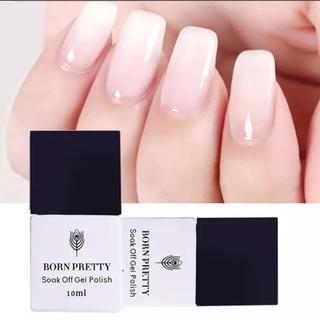 Opal Jelly Gel♡乳白色オパールミルキーカラージェル 10ml(カラージェル)