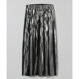 ジーナシス(JEANASIS)のJEANASiS ハクプリントプリーツスカート メタリック(ロングスカート)