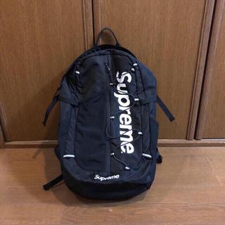 シュプリーム(Supreme)のシュプリーム バックパック大人気モデルsupreme Supreme   黒です(バッグパック/リュック)