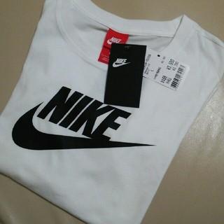 ナイキ(NIKE)の★新品タグ付き★ NIKE ナイキTシャツ  ビッグロゴ /ホワイト/L(Tシャツ(半袖/袖なし))