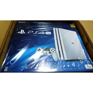 PlayStation 4 PS4 Pro グレイシャー・ホワイト 1TB