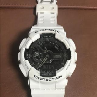 ジーショック(G-SHOCK)のG-SHOCK、Gショック、白 WR20BAR (腕時計(アナログ))