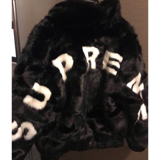 シュプリーム(Supreme)のSupreme faux fur bomber jacket(その他)