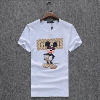 グッチ(Gucci)のコットン半袖Tシャツ(Tシャツ/カットソー(半袖/袖なし))