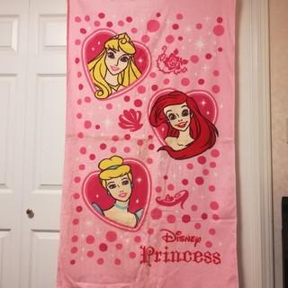 ディズニー(Disney)の新品 Princess タオルケット バスタオル大(タオルケット)