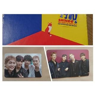 シャイニー(SHINee)のSHINee ep3 CD トレカ2枚&訳付き 開封済(K-POP/アジア)