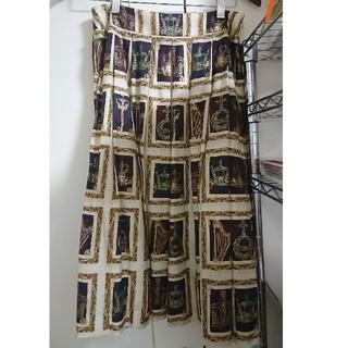 ジェーンマープル(JaneMarple)のJane Marple precious frames スカート(ひざ丈スカート)