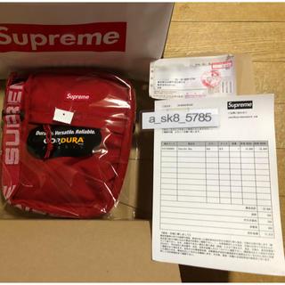 シュプリーム(Supreme)の国内正規 新品 Supreme shoulder bag 18ss 赤 Red(ショルダーバッグ)