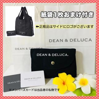 ディーンアンドデルーカ(DEAN & DELUCA)の迅速発送〈正規品 紙袋付〉エコバッグ 黒 DEAN&DELUCA トートバッグ(エコバッグ)