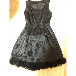 エフデ(ef-de)のブラックドレス(その他ドレス)