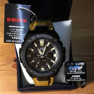 ジーショック(G-SHOCK)のしょうちゃん様専用  超美品 G-SHOCK  GST-W120L-1BJF(腕時計(アナログ))