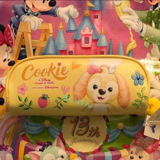 Disney - 香港ディズニー クッキー ダッフィー ペンケース 筆箱