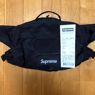 シュプリーム(Supreme)のSupreme 17ss Waist Bag Black(ウエストポーチ)
