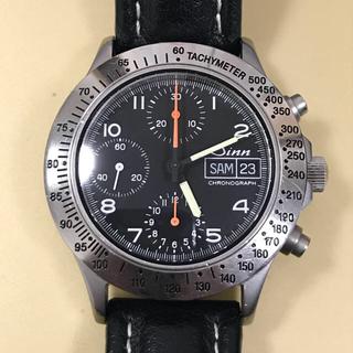 シン(SINN)のSinn ジン 256ST バルジュー7750(腕時計(アナログ))