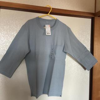 ユニクロ(UNIQLO)のユニクロ クールネック七分袖(Tシャツ/カットソー(七分/長袖))