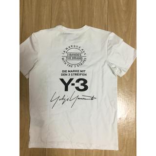 ワイスリー(Y-3)のY-3Tシャツ白  サイズXS(Tシャツ/カットソー(半袖/袖なし))