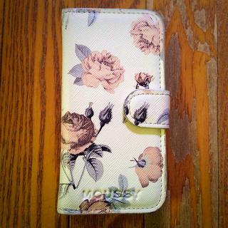 マウジー(moussy)のmoussy iPhoneケース(モバイルケース/カバー)